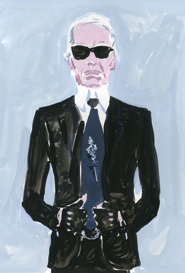 karl-lagerfeld by Jean-Philippe Delhomme for LV